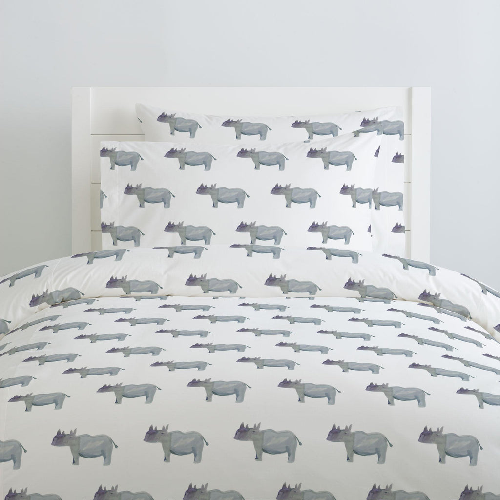 Product image for Painted Rhino Pillow Case