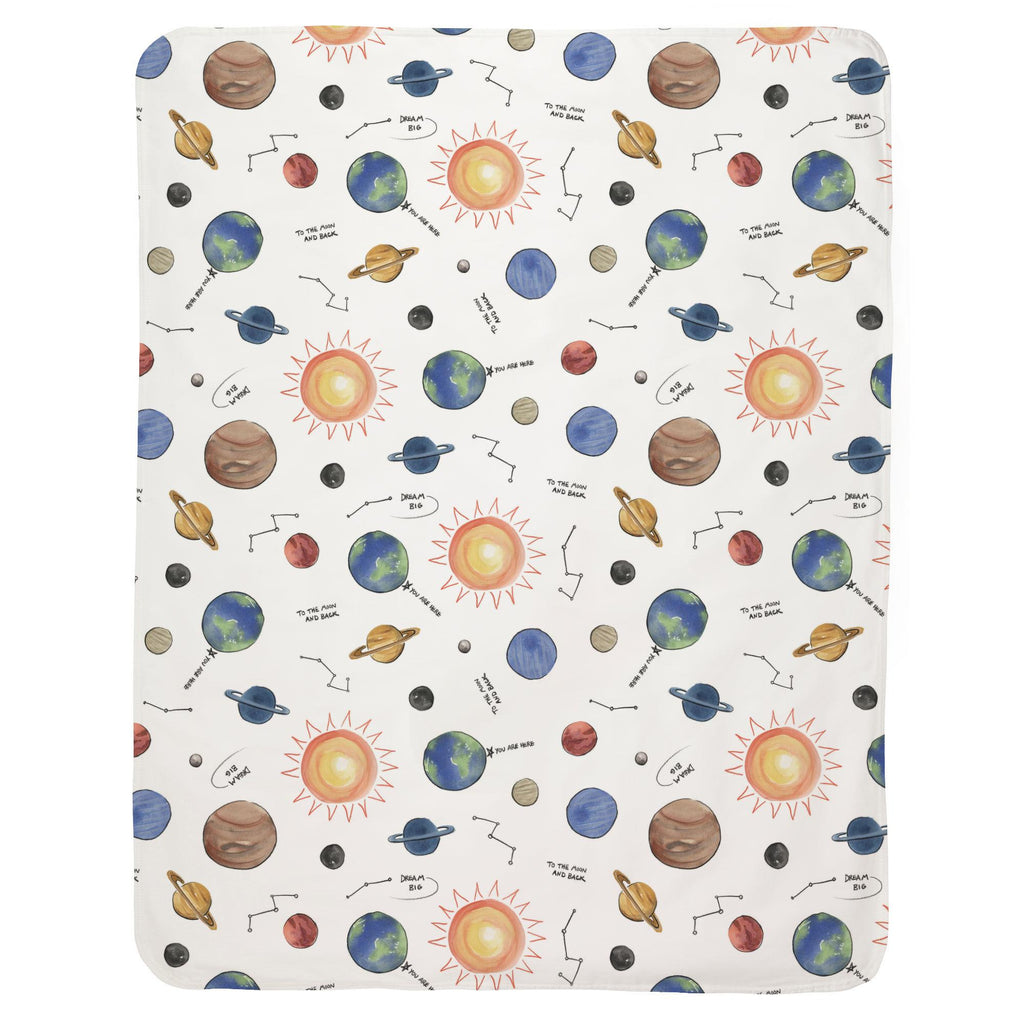 Product image for Solar System Baby Blanket