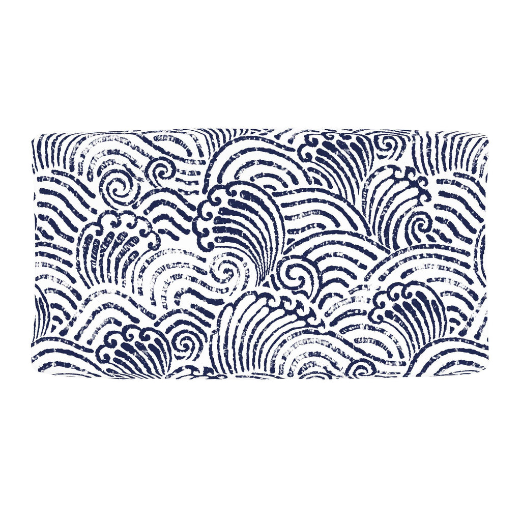 Product image for Navy Seas Changing Pad Cover