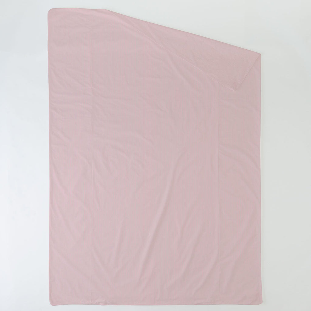 Product image for Pink Mini-Stripe Duvet Cover