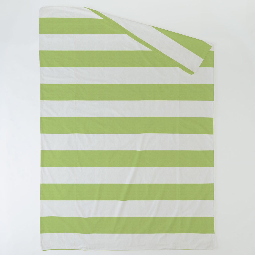 Product image for Kiwi Horizontal Stripe Duvet Cover