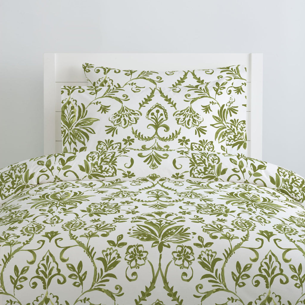 Product image for Sage Coastal Damask Pillow Case