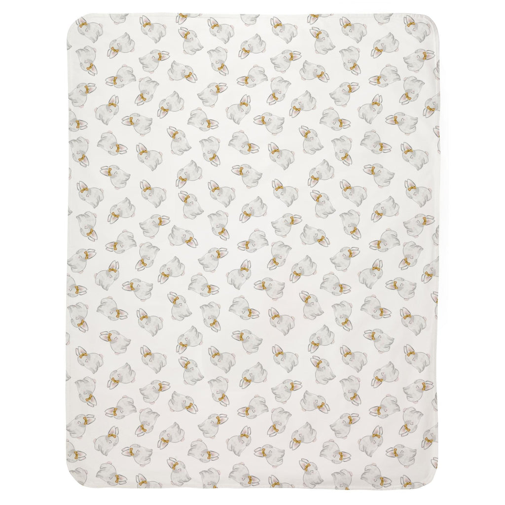 Product image for Painted Bunnies Baby Blanket