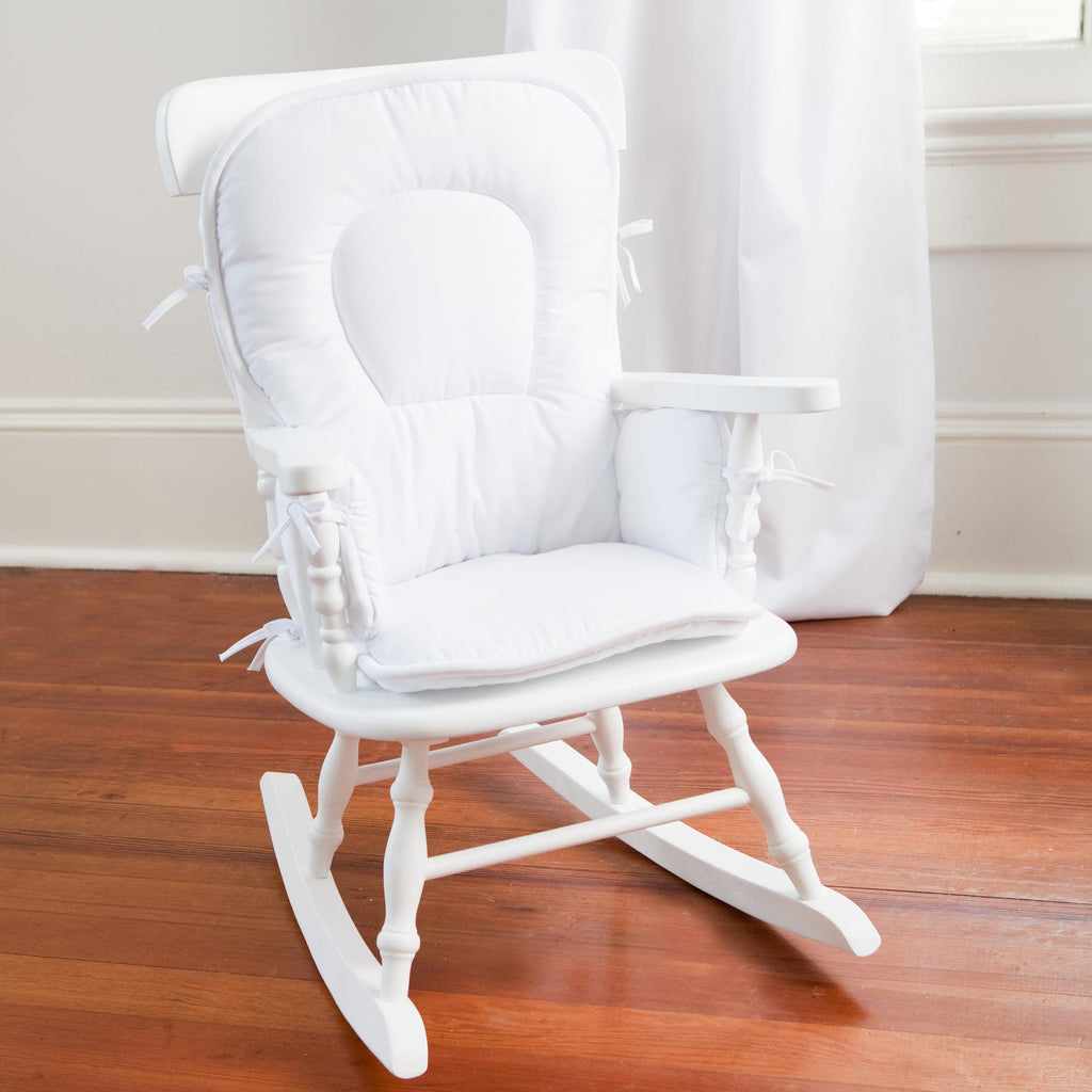 Product image for Solid White High Chair Pad