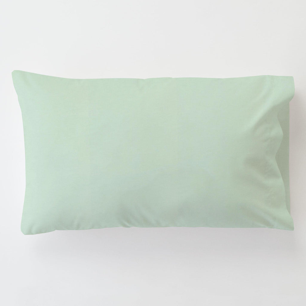 Product image for Solid Icy Mint Toddler Pillow Case