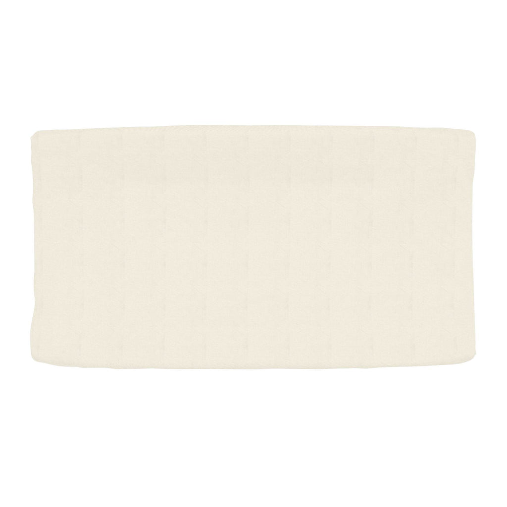 Product image for Solid Ivory Changing Pad Cover
