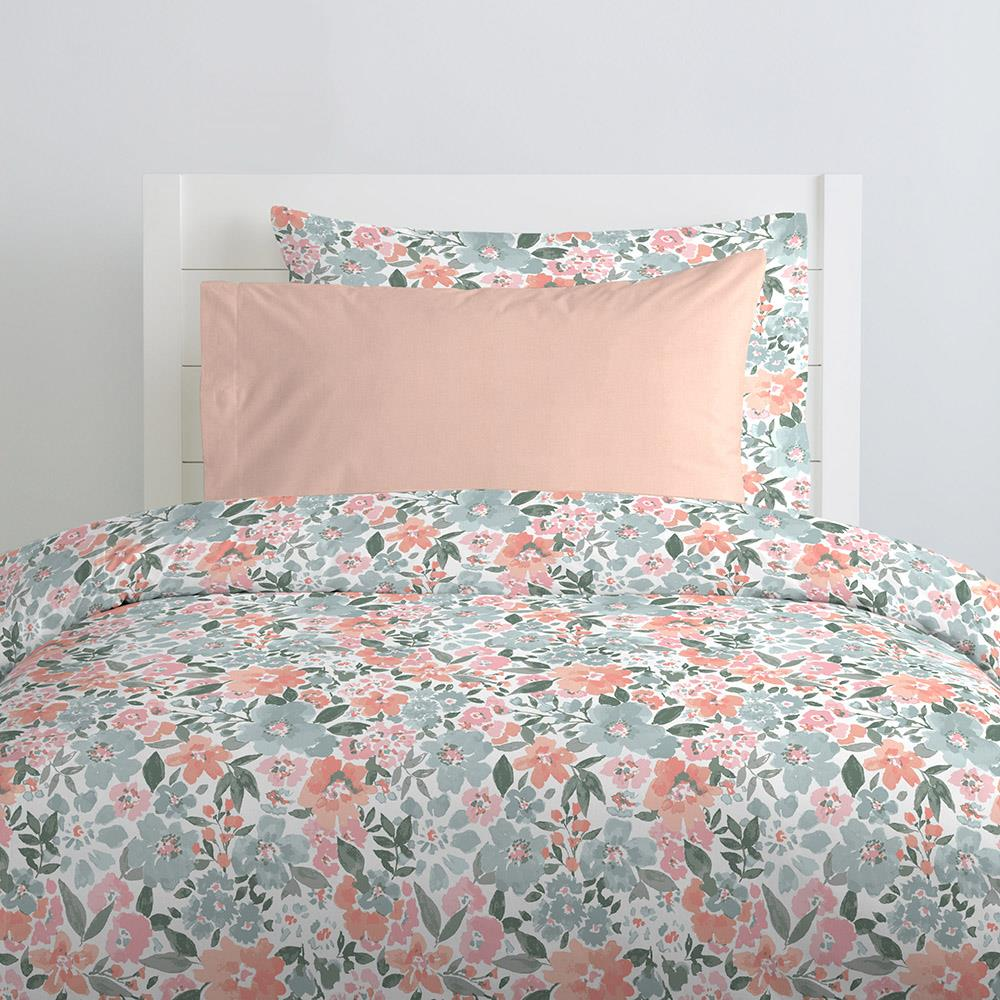 Product image for Solid Peach Pillow Case