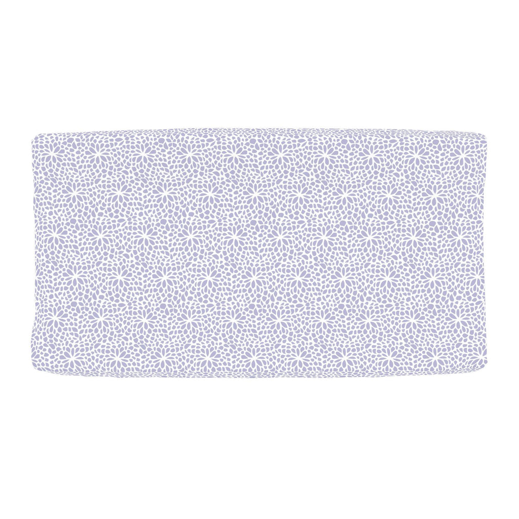 Product image for Lavender Modern Mums Changing Pad Cover