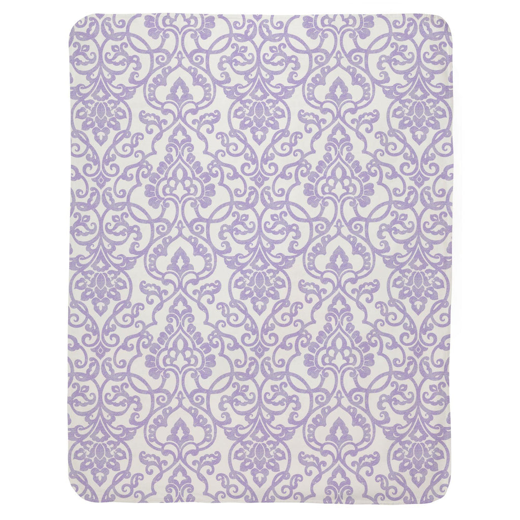 Product image for Lilac Filigree Baby Blanket