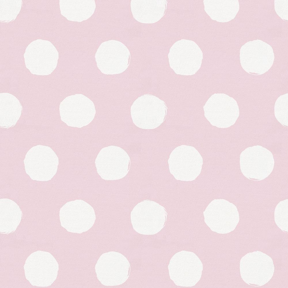 Product image for Pink and White Brush Dots Baby Play Mat