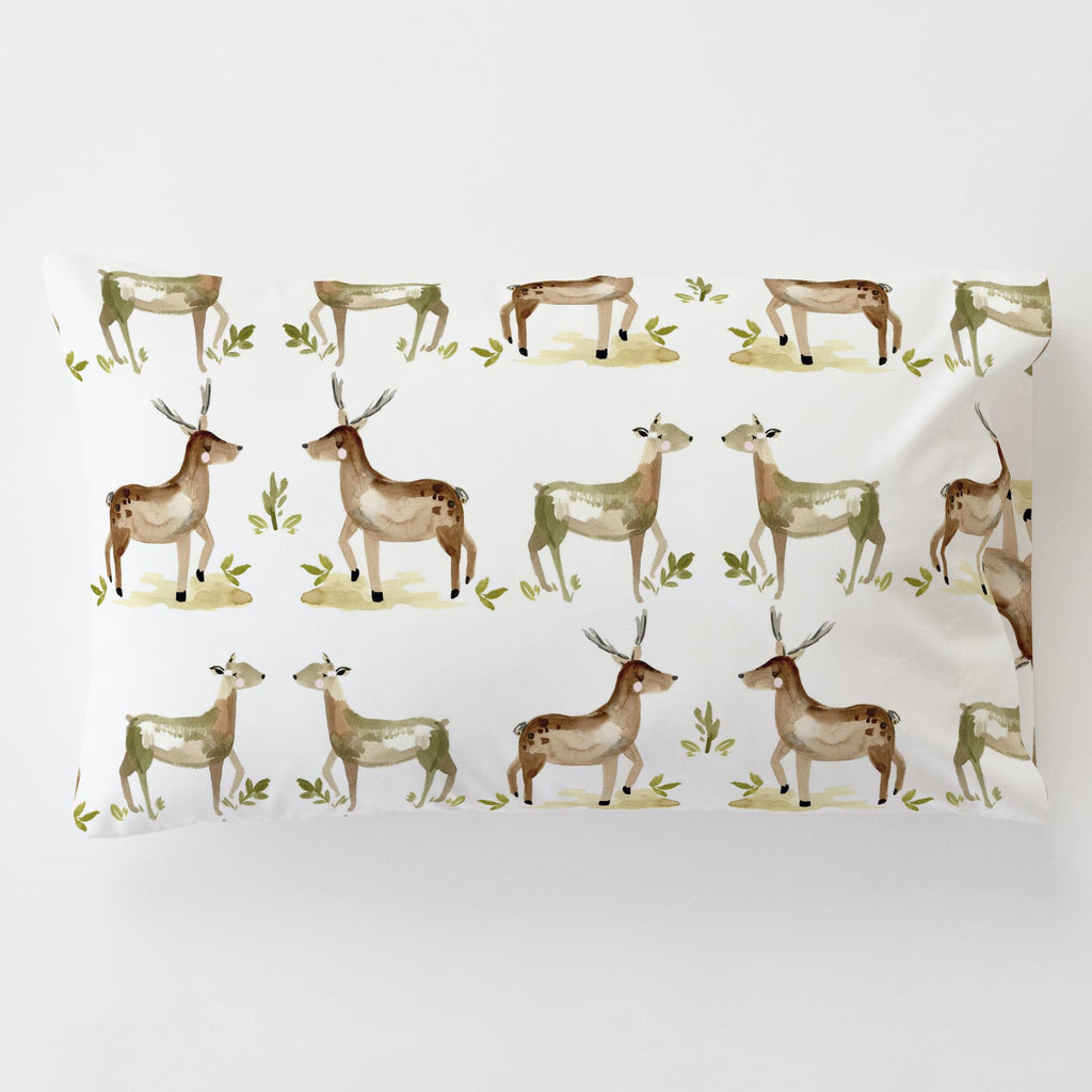 Product image for Painted Deer Toddler Pillow Case