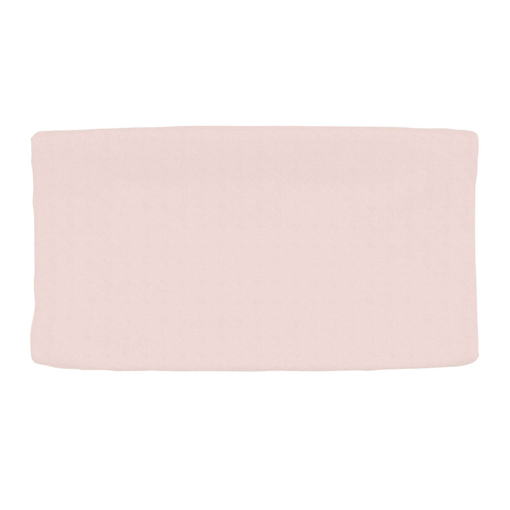 Product image for Solid Pale Pink Changing Pad Cover