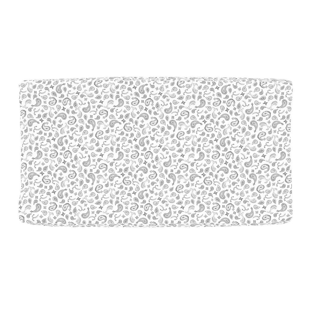 Product image for Bandana Paisley Changing Pad Cover