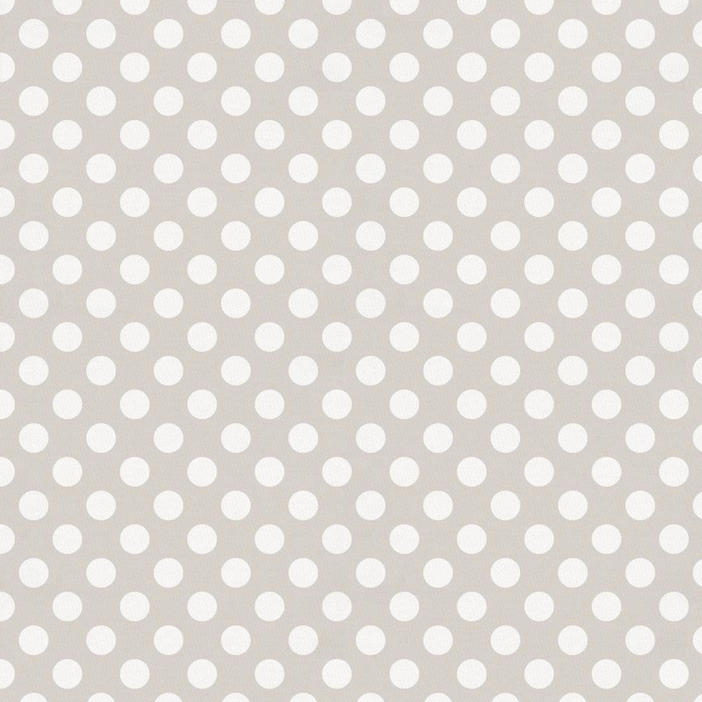 Product image for French Gray and White Dot Drape Panel