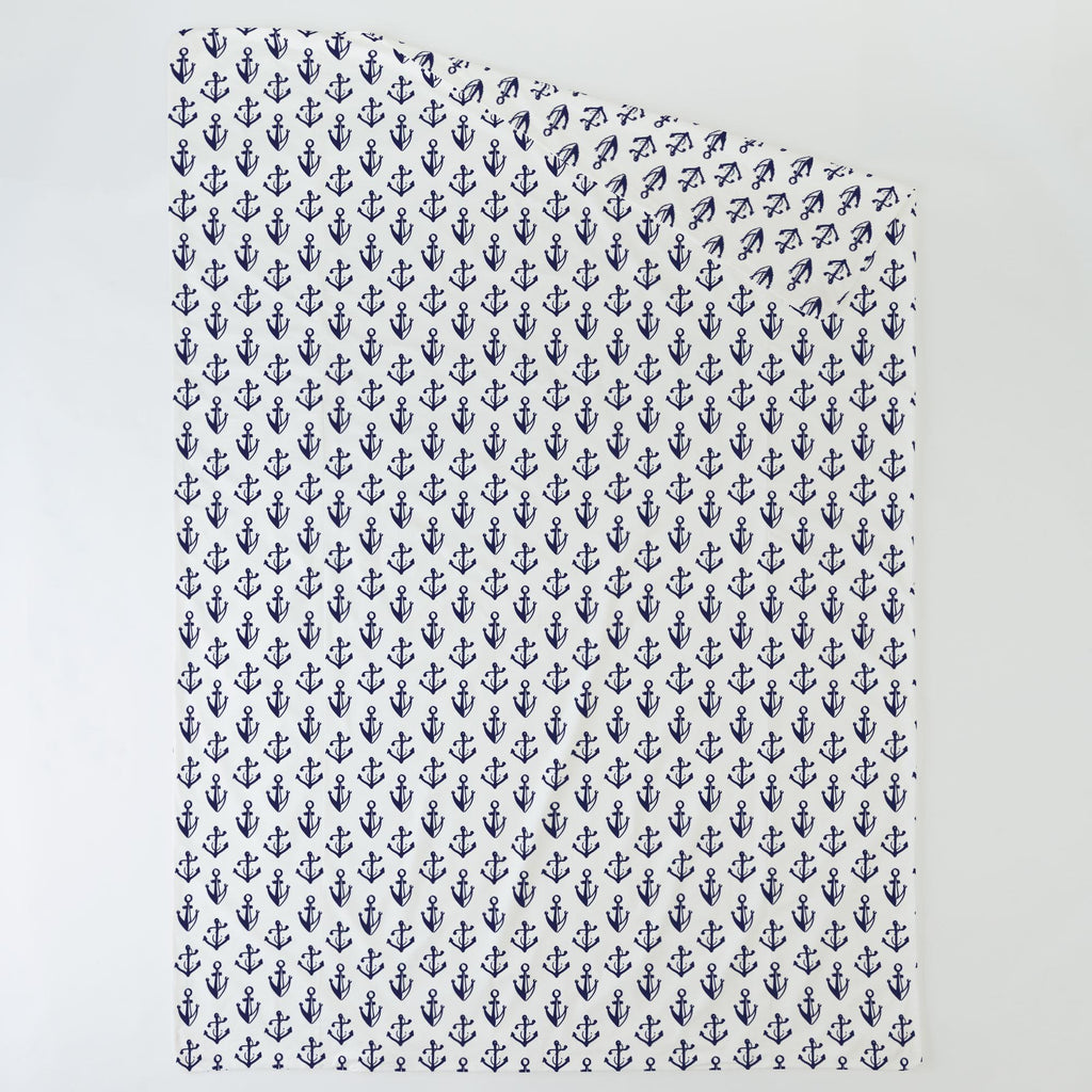 Product image for Windsor Navy Anchors Duvet Cover