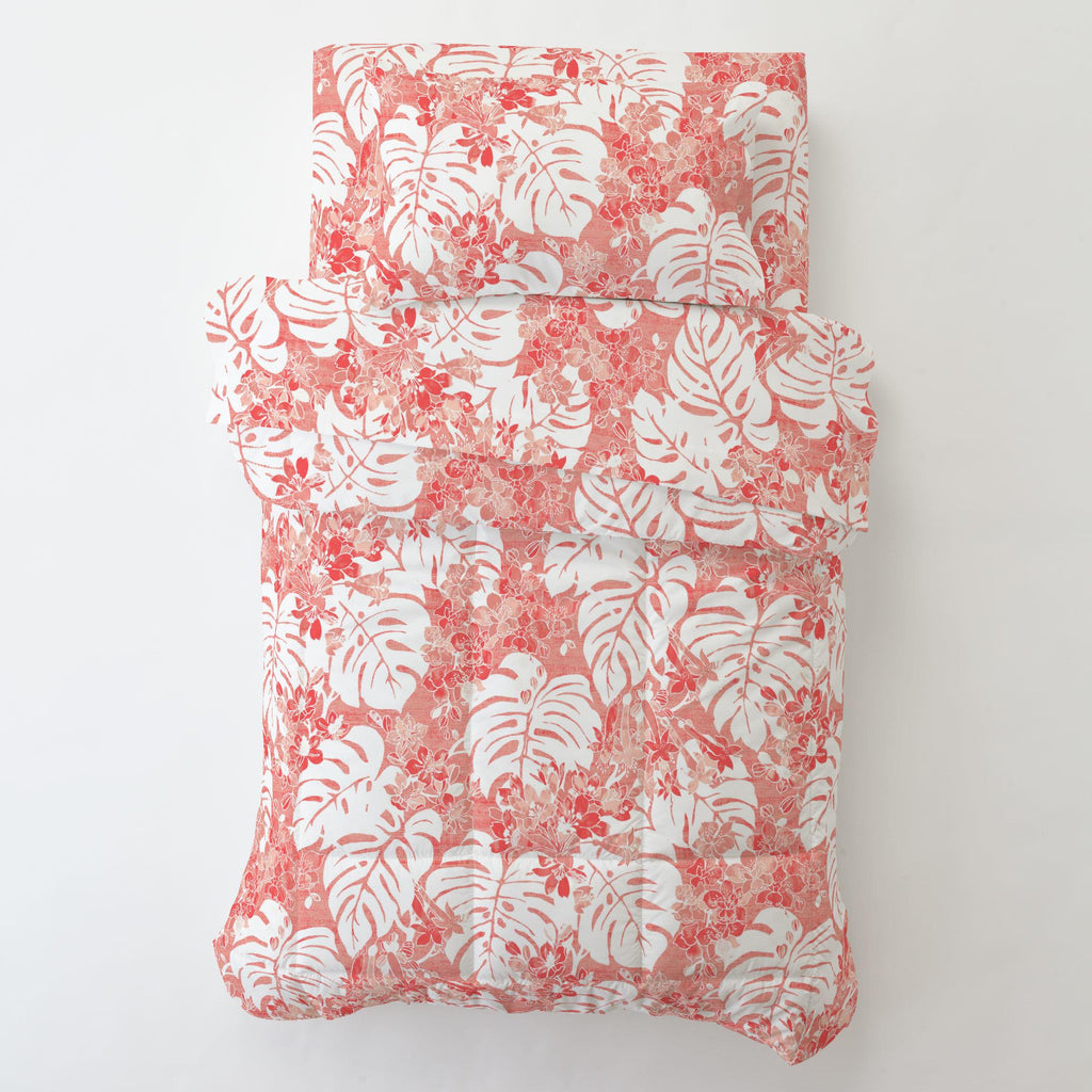 Product image for Light Coral Tropical Toddler Comforter