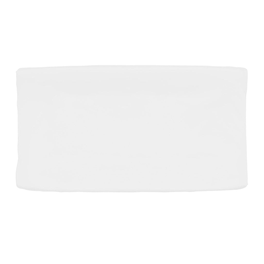 Product image for Solid White Changing Pad Cover