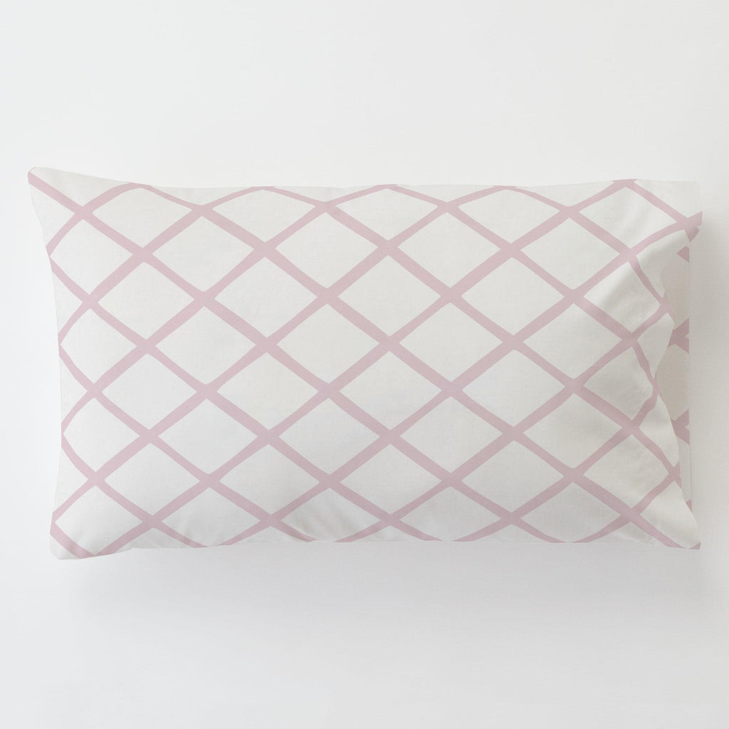 Product image for Pink Trellis Toddler Pillow Case