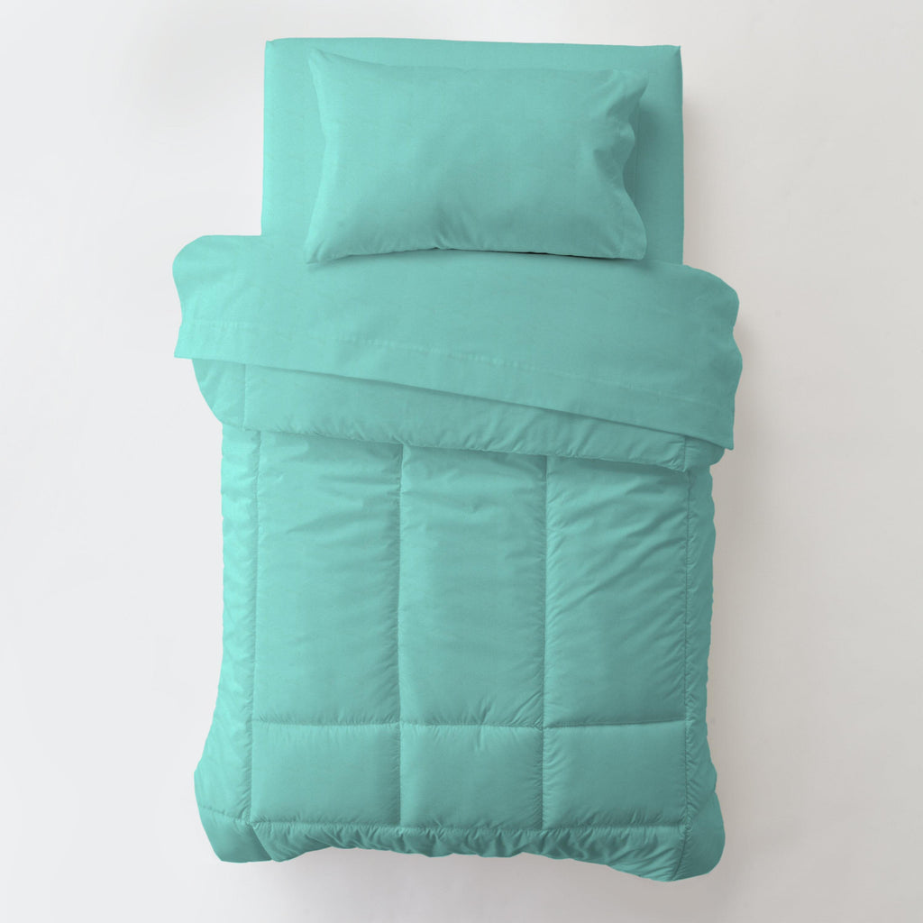 Product image for Solid Teal Toddler Comforter
