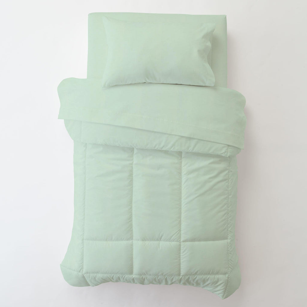 Product image for Solid Icy Mint Toddler Pillow Case with Pillow Insert