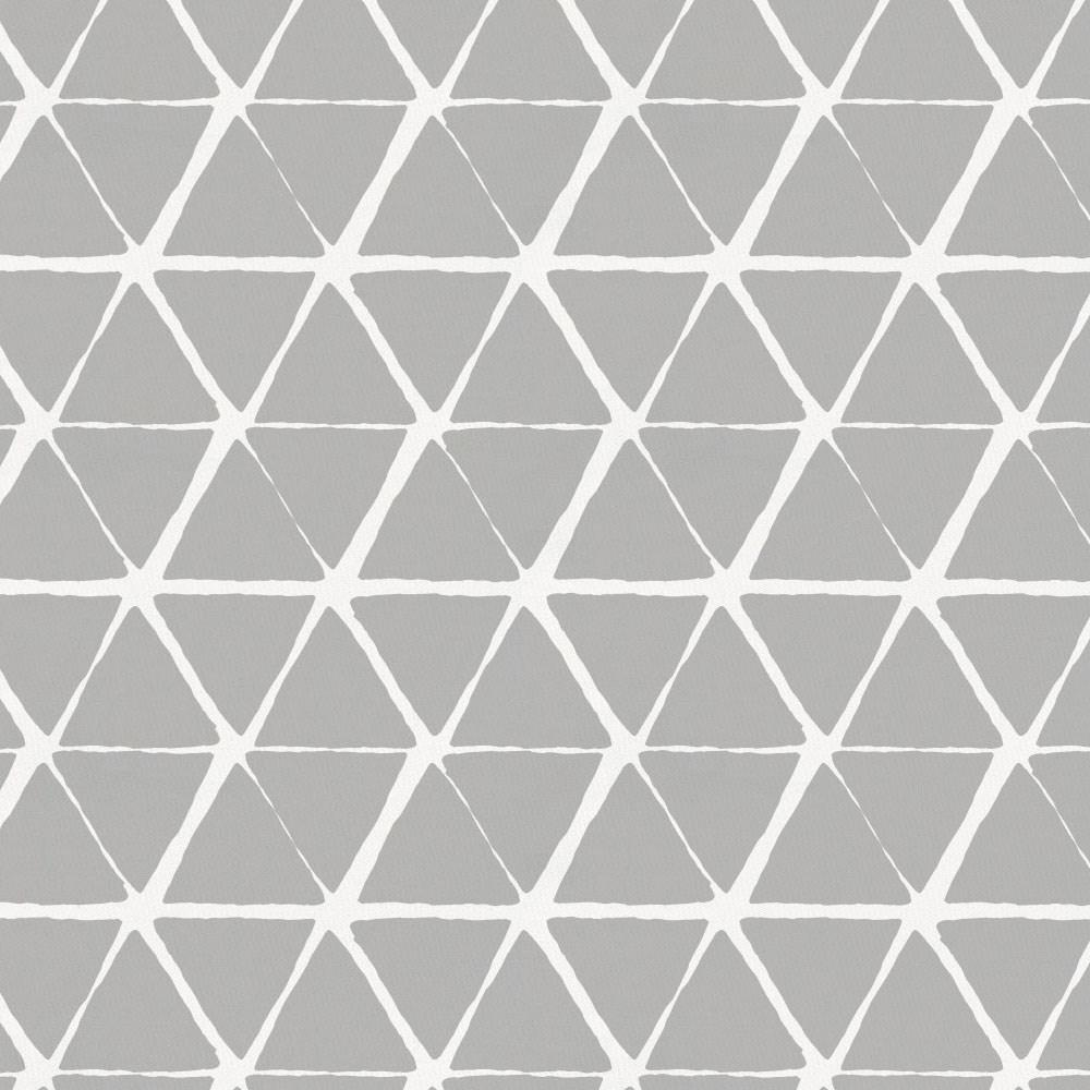 Product image for Gray Aztec Triangles Accent Pillow