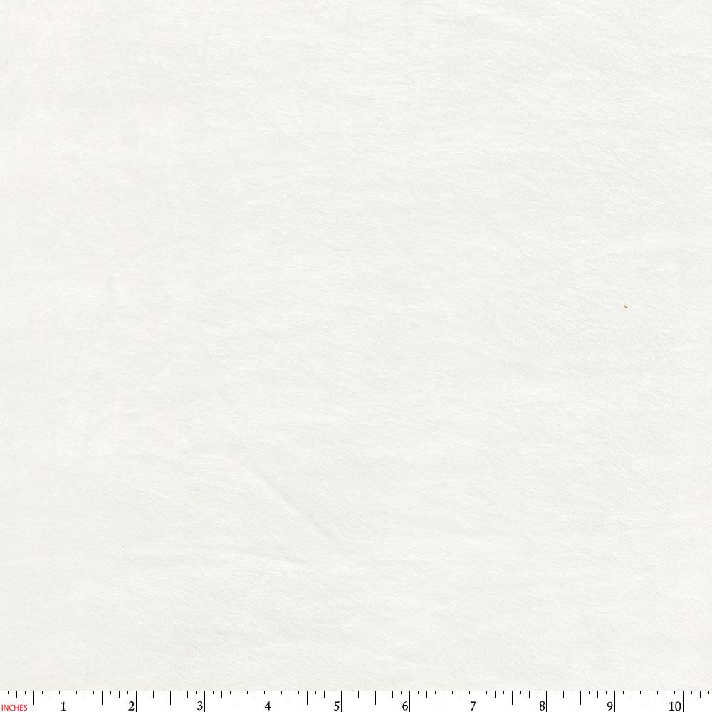 Product image for Solid White Minky Fabric