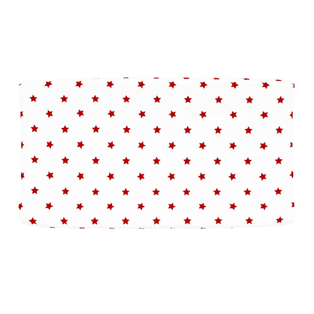 Product image for Red Stars Changing Pad Cover