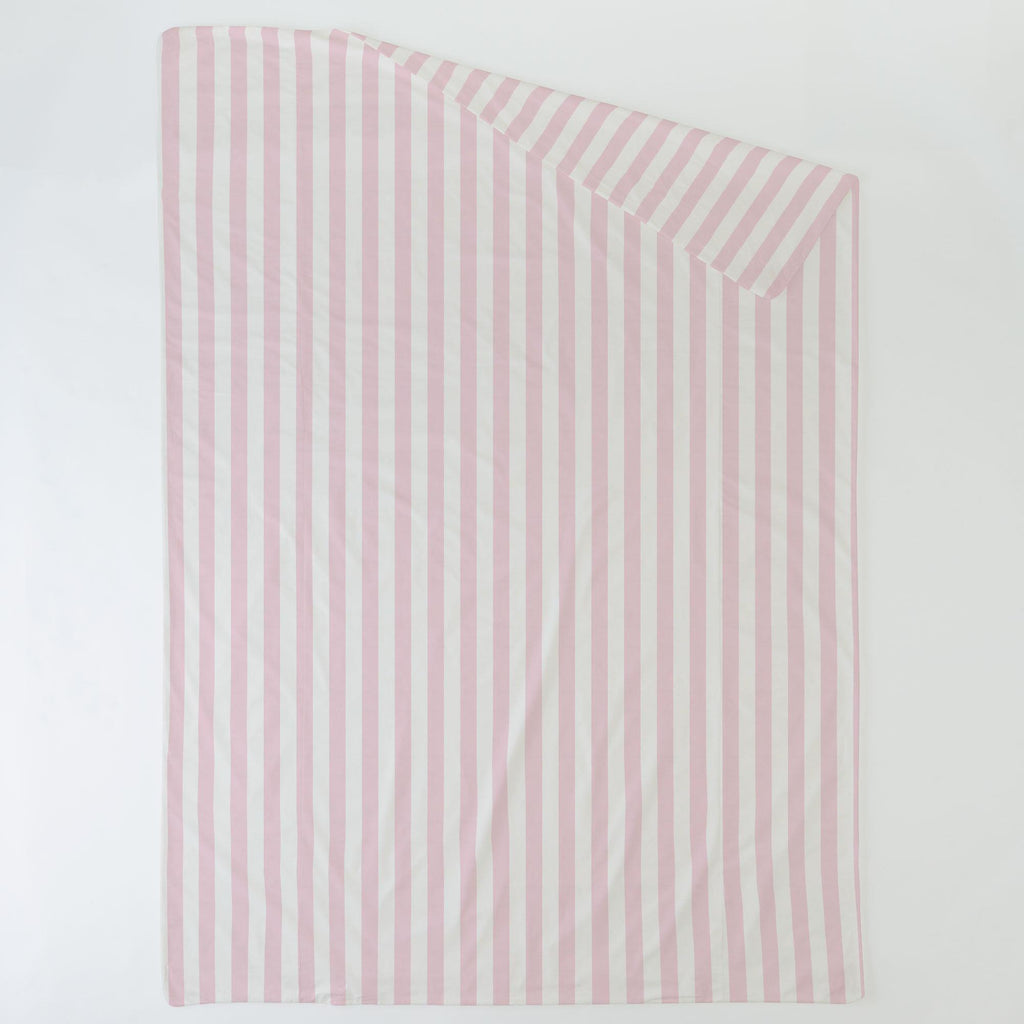 Product image for Pink Stripe Duvet Cover