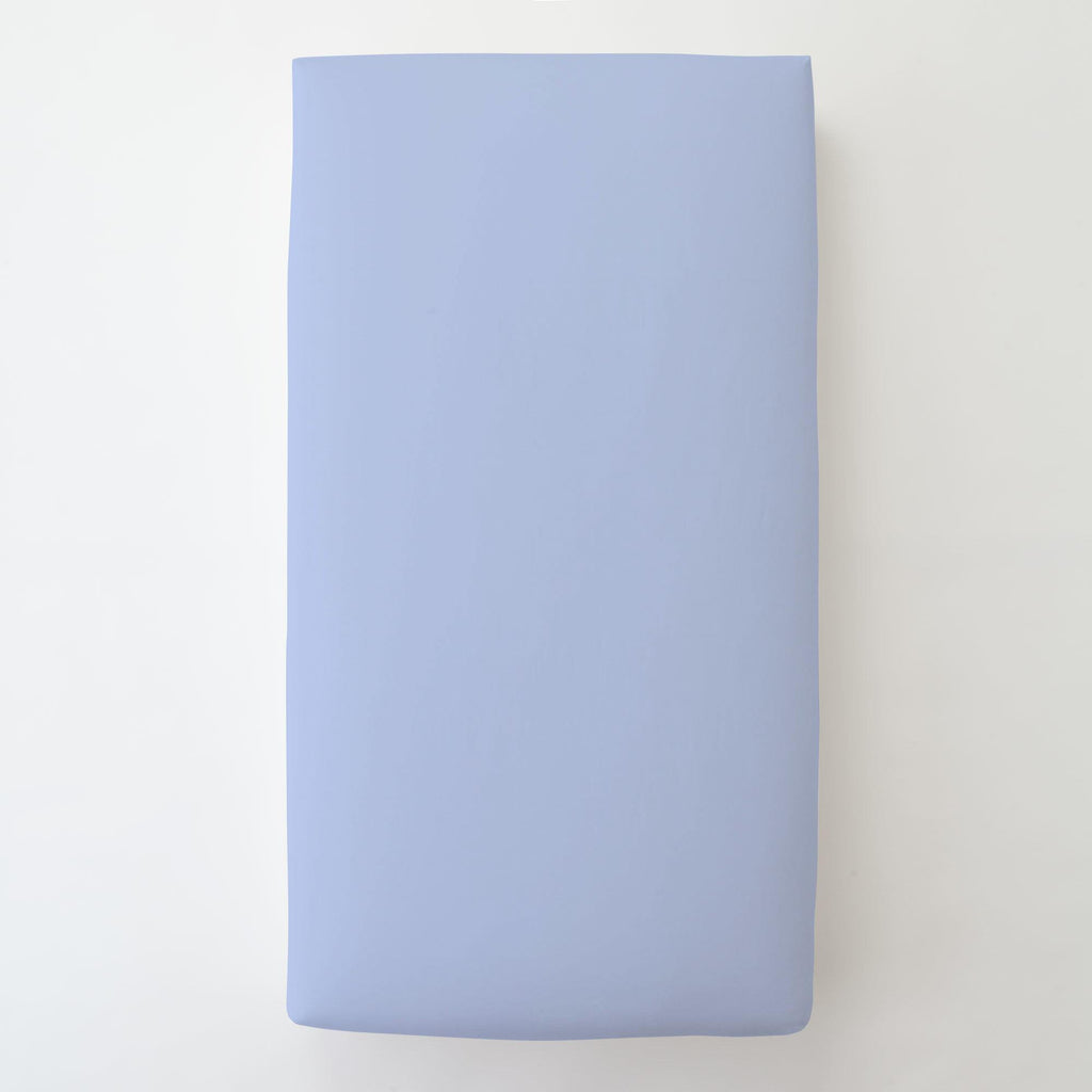 Product image for Ice Blue Toddler Sheet Bottom Fitted