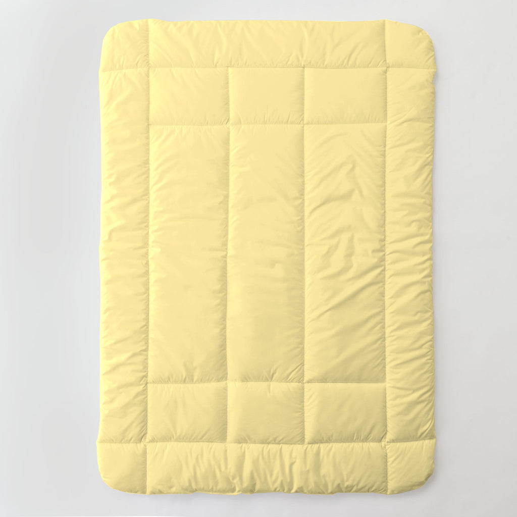 Product image for Solid Banana Toddler Comforter
