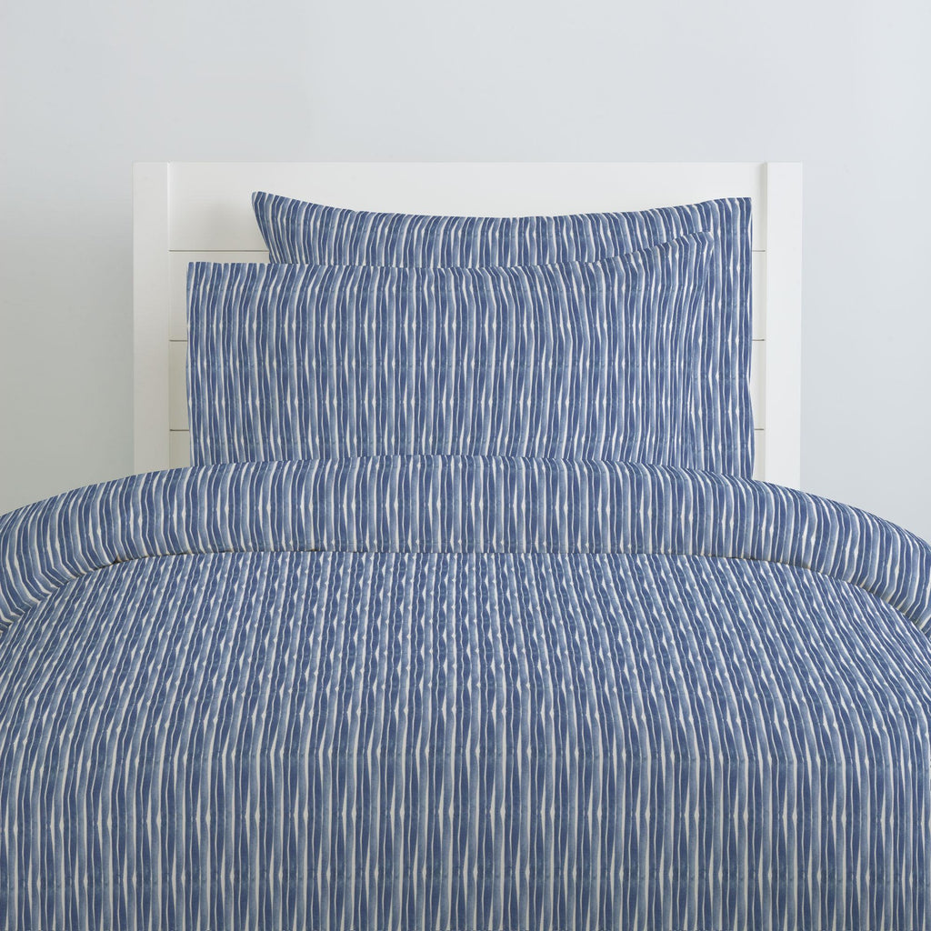 Product image for Blue Ocean Stripe Pillow Case