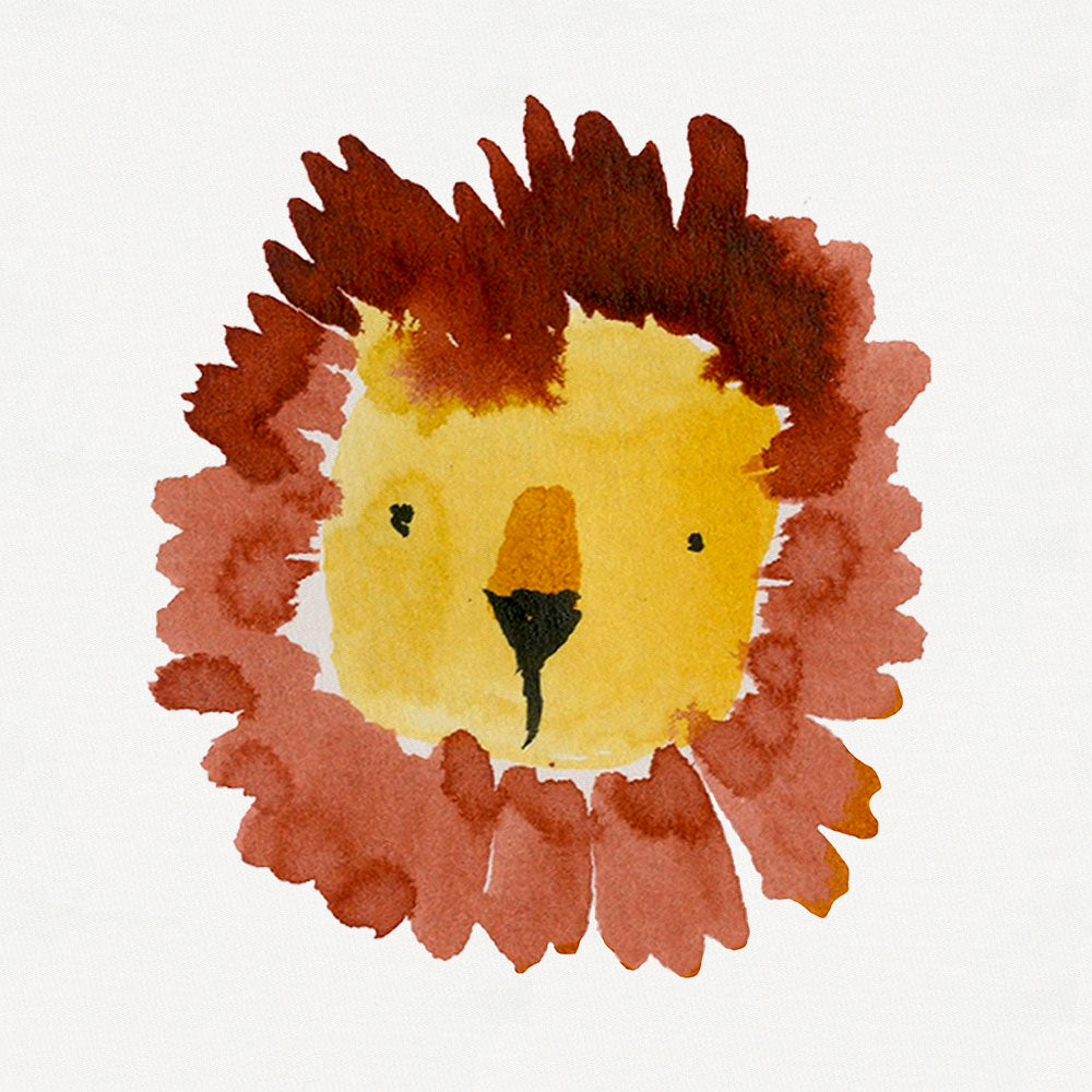 Product image for Painted Lion Centerpiece Accent Pillow