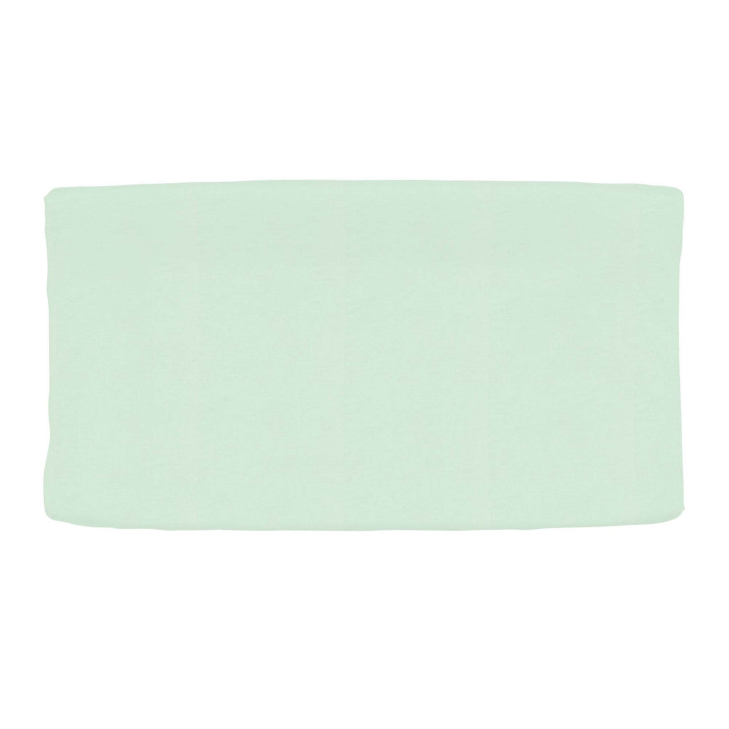Product image for Solid Icy Mint Changing Pad Cover