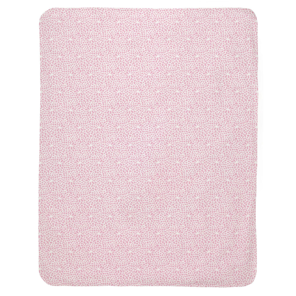 Product image for Bubblegum Pink Modern Mums Baby Blanket