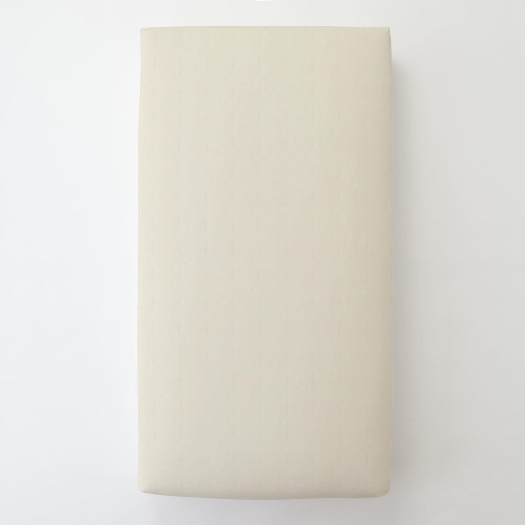 Product image for Solid Ivory Toddler Sheet Bottom Fitted