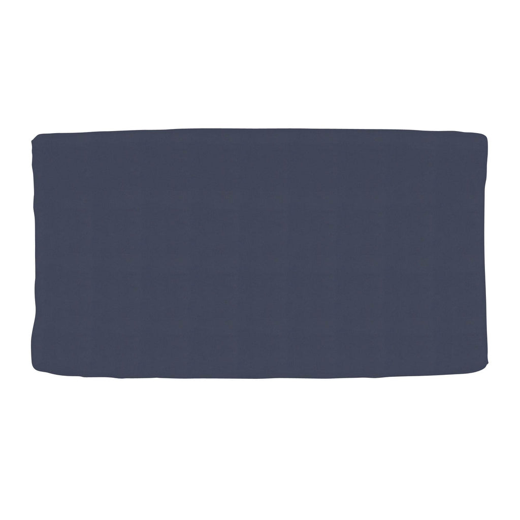 Product image for Solid Navy Changing Pad Cover