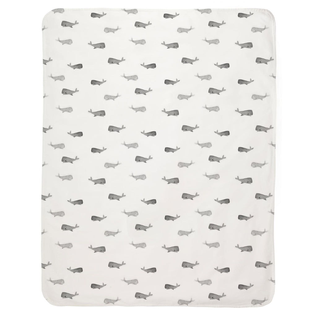Product image for Gray Whale of a Tale Baby Blanket