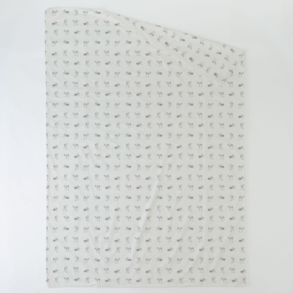 Product image for Silver Gray Fawns Duvet Cover