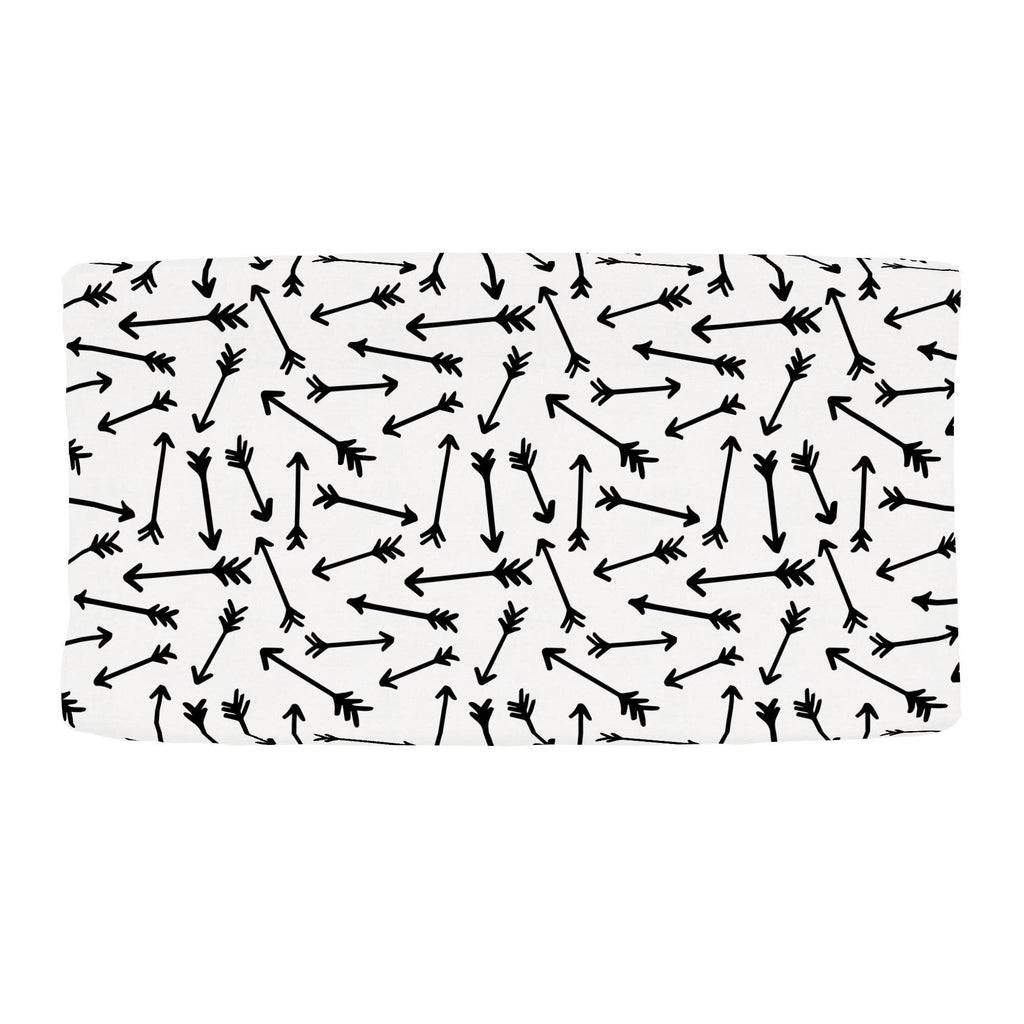 Product image for Onyx Whimsical Arrows Changing Pad Cover