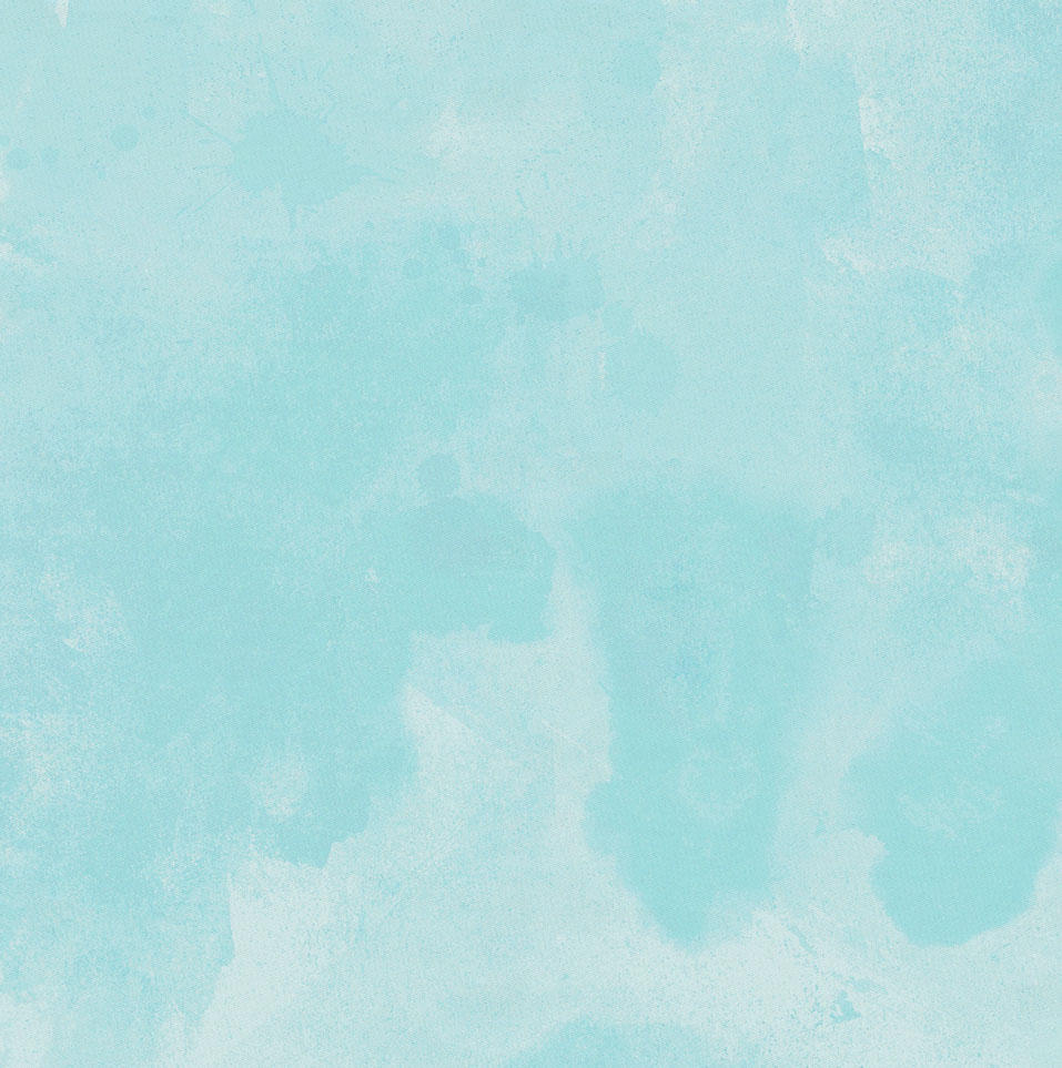Product image for Seafoam Aqua Watercolor Baby Play Mat