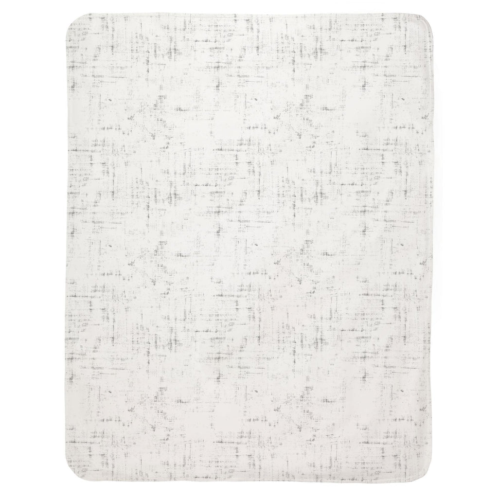 Product image for Cloud Gray Distressed Baby Blanket