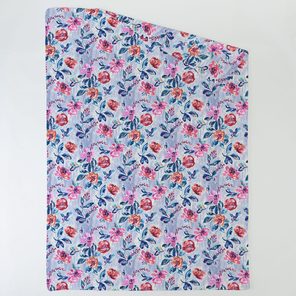 Product image for Pink and Lavender Garden Duvet Cover