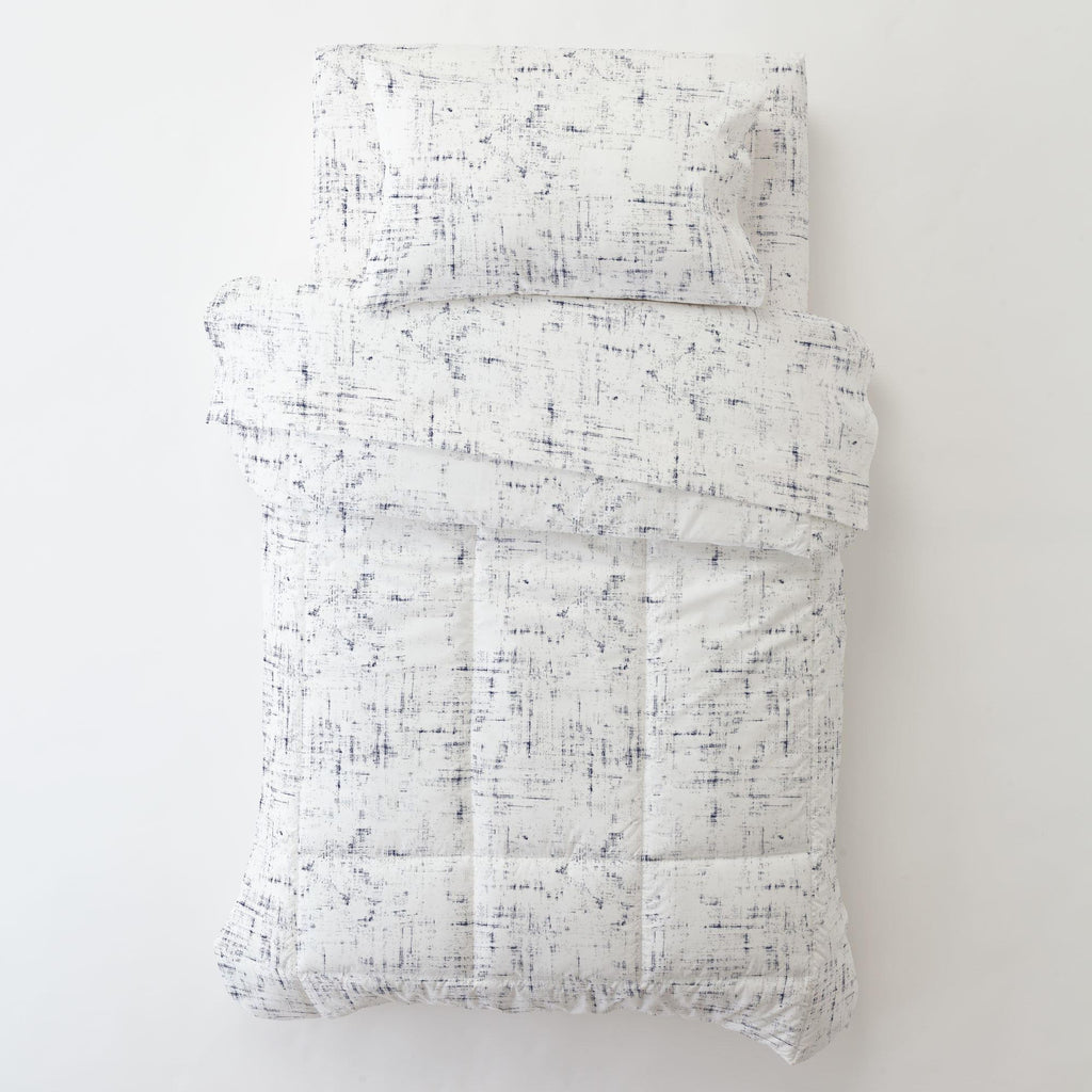 Product image for Navy Distressed Toddler Comforter