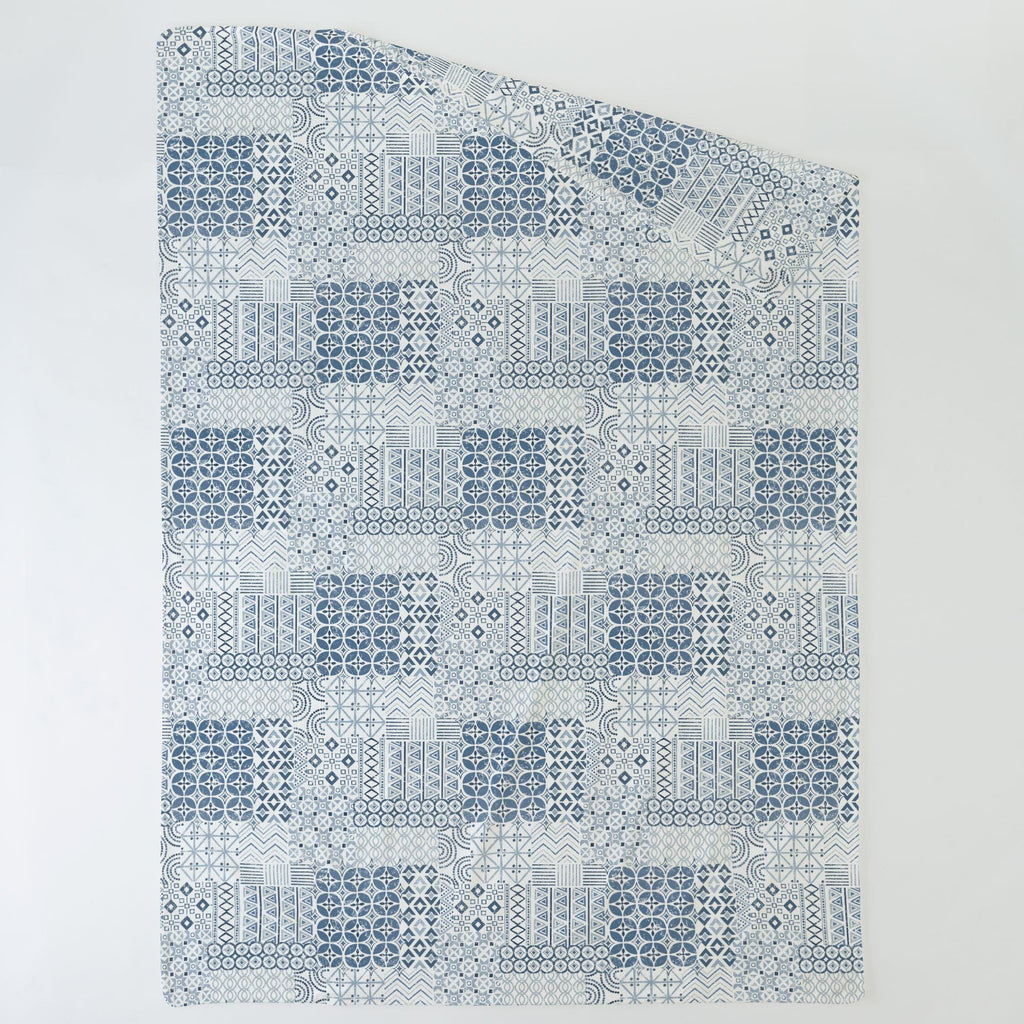 Product image for Denim Patchwork Duvet Cover