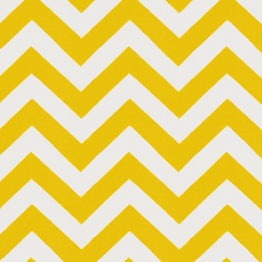 Product image for Yellow Zig Zag Throw Pillow