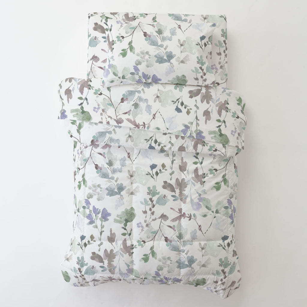 Product image for Soft Wildflower Toddler Pillow Case with Pillow Insert