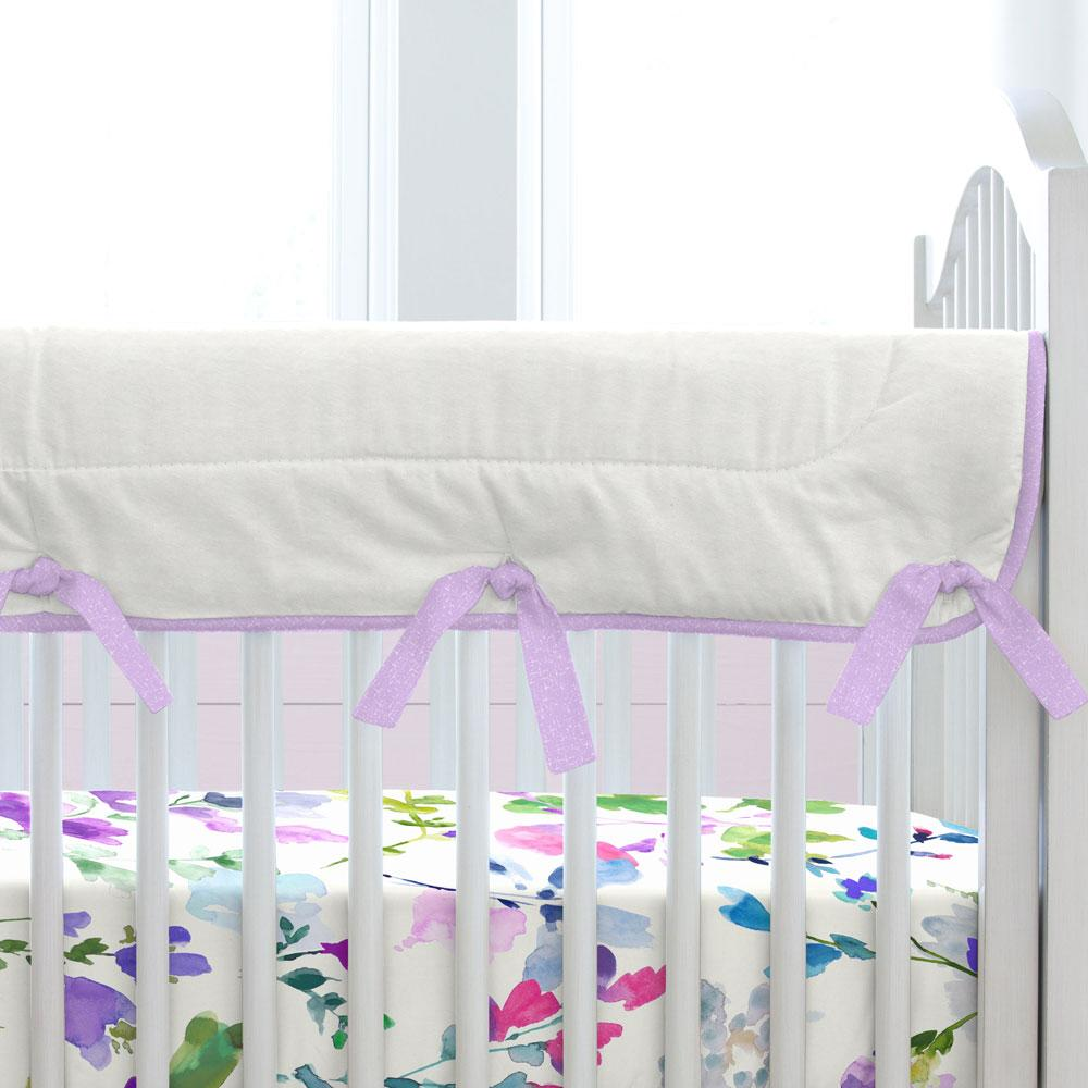 Product image for Bright Wildflower Crib Rail Cover