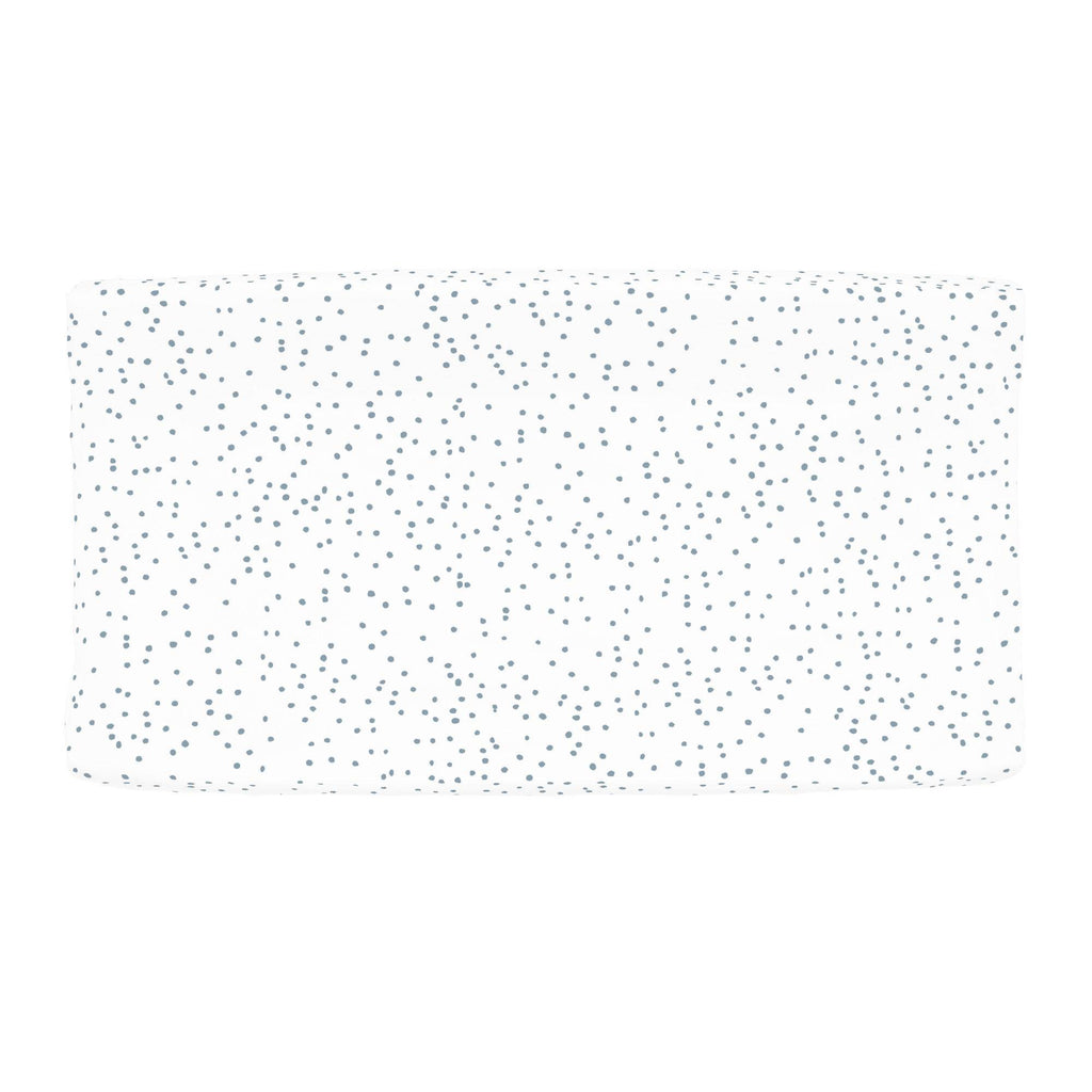 Product image for Steel Blue Snowfall Changing Pad Cover