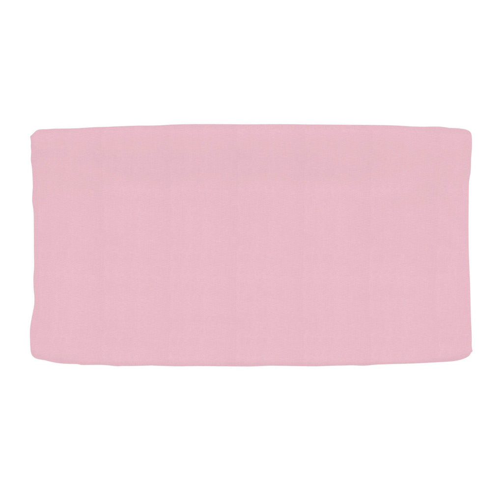 Product image for Solid Bubblegum Pink Changing Pad Cover
