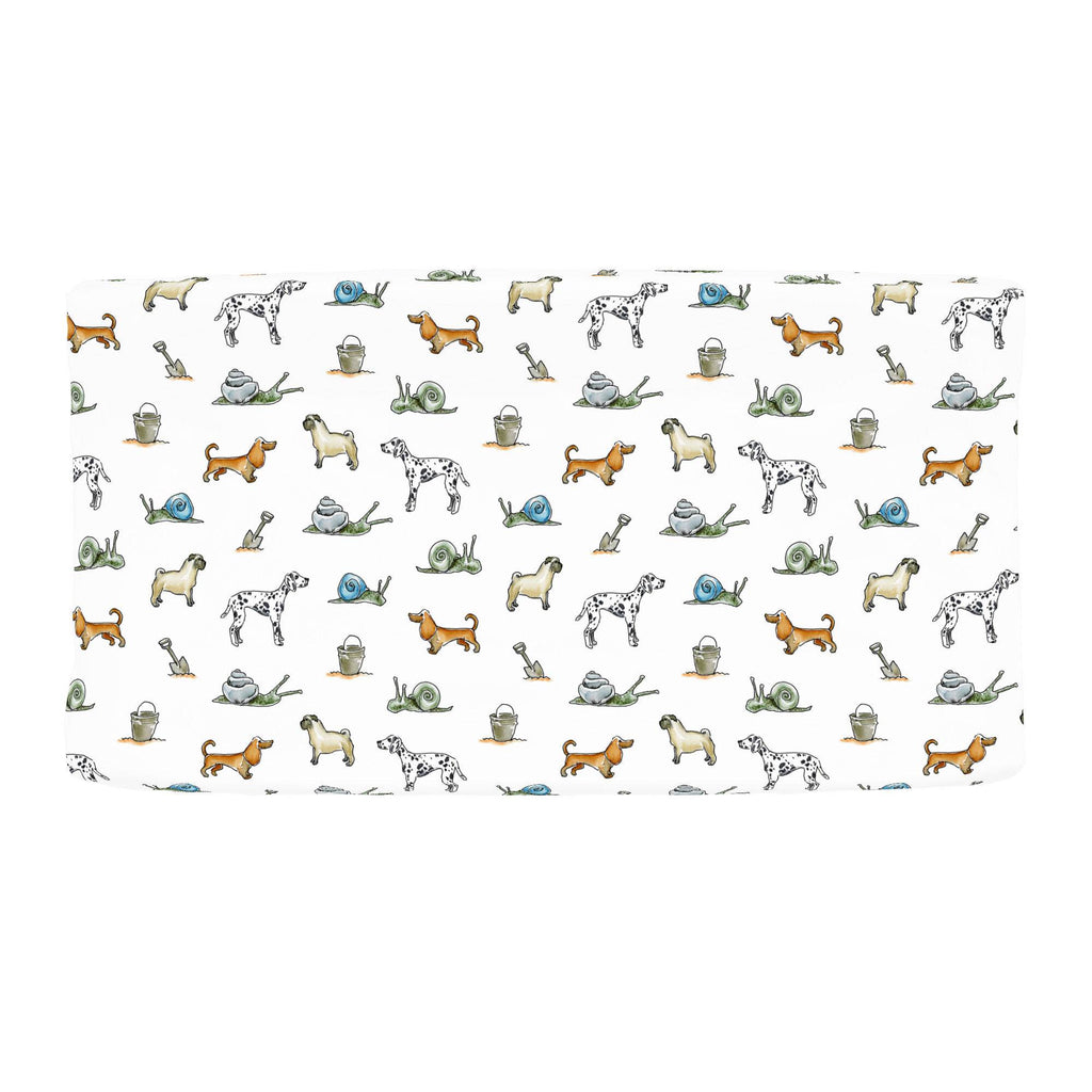 Product image for Snails and Tails Changing Pad Cover